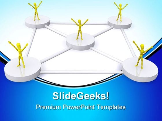 Teamwork06 Leadership PowerPoint Themes And PowerPoint Slides 0811