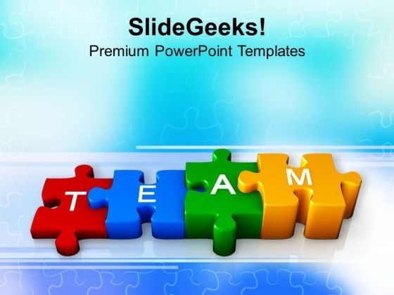 Teamwork Business Strategies PowerPoint Templates Ppt Backgrounds For Slides 0413