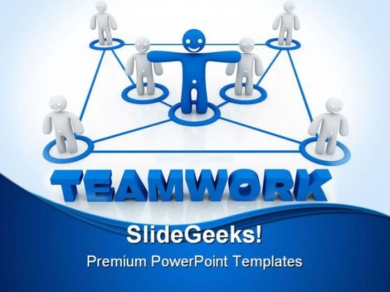 Teamwork Concept02 Success PowerPoint Templates And PowerPoint Backgrounds 0811