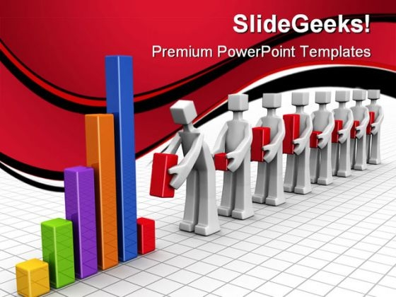 Teamwork Concept Business PowerPoint Themes And PowerPoint Slides 0511