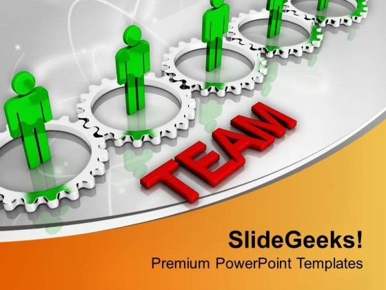 Teamwork Concept Finance Theme PowerPoint Templates Ppt Backgrounds For Slides 0613