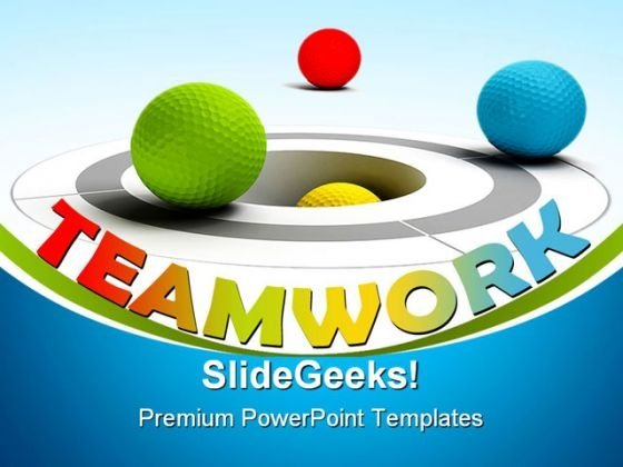 Teamwork Concept Leadership PowerPoint Templates And PowerPoint Backgrounds 0311