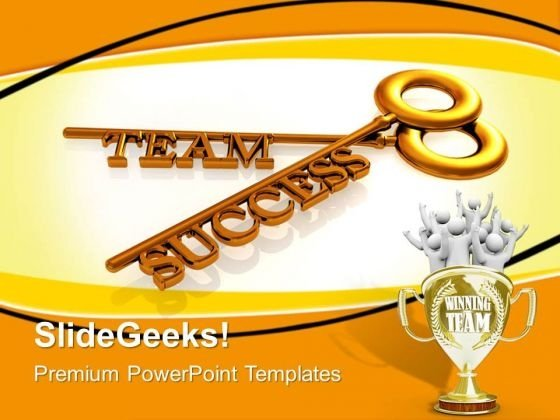 Teamwork Concept Success PowerPoint Templates And PowerPoint Themes 0712