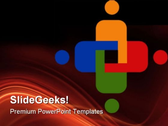 Teamwork Leadership PowerPoint Themes And PowerPoint Slides 0611