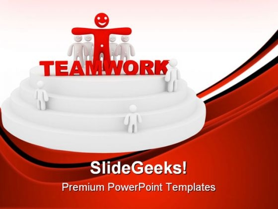 Teamwork Success Business PowerPoint Themes And PowerPoint Slides 0811