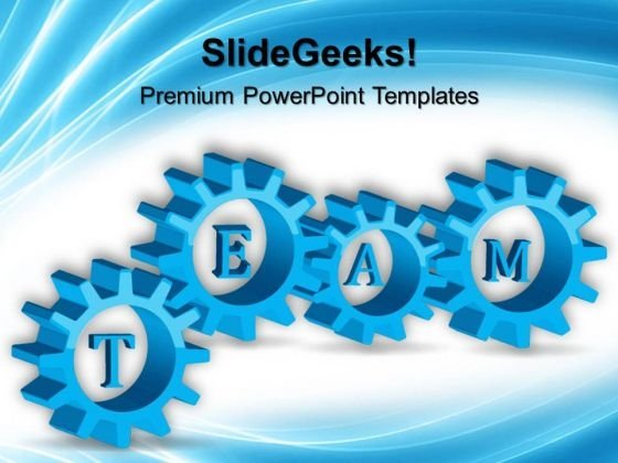Teamwork Symbol PowerPoint Templates And PowerPoint Themes 0512