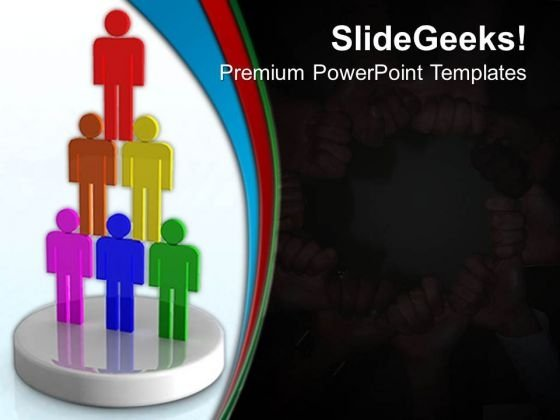 Teamwork Unity Business PowerPoint Templates And PowerPoint Themes 0612