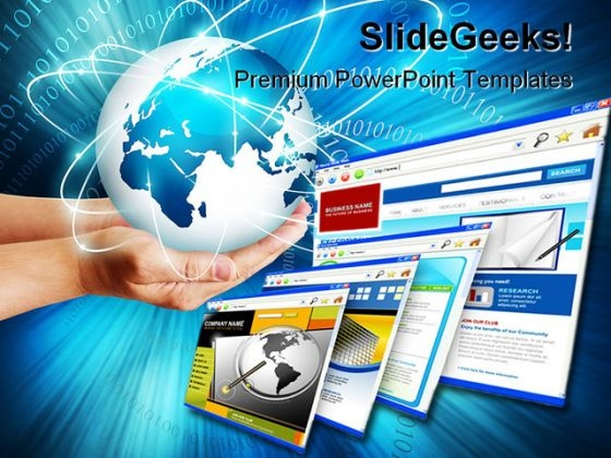 Technology Internet PowerPoint Backgrounds And Templates 1210