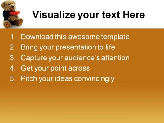 teddy_bear_with_flower_children_powerpoint_themes_and_powerpoint_slides_0511_text