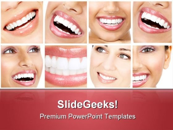 Teeth Medical PowerPoint Templates And PowerPoint Backgrounds 0711