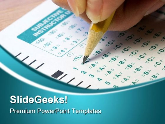 Test Business PowerPoint Templates And PowerPoint Backgrounds 0811