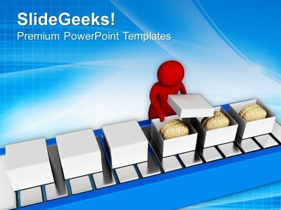 Test The Quality Of Brain PowerPoint Templates Ppt Backgrounds For Slides 0713
