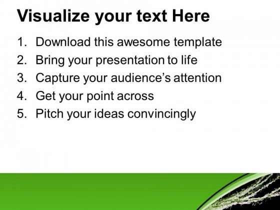 Textured Background With Green Color Powerpoint Templates Ppt Backgrounds For Slides 0413 Powerpoint Themes