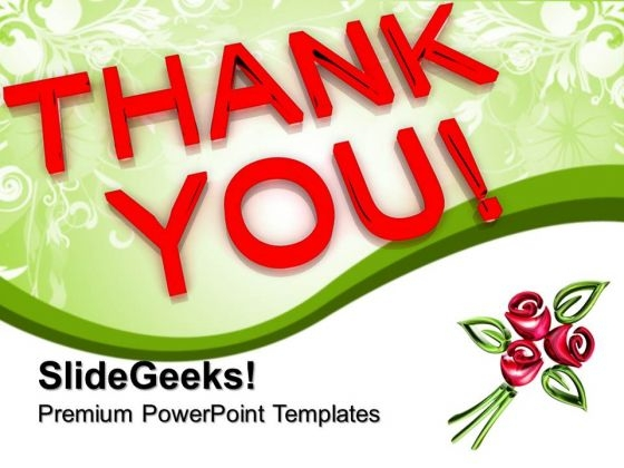 Thank You PowerPoint Templates And PowerPoint Themes 1112
