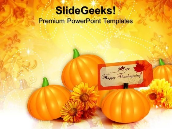 Thanksgiving American Holidays PowerPoint Templates And PowerPoint Themes 0912