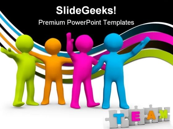 The Right Team Business PowerPoint Themes And PowerPoint Slides 0411