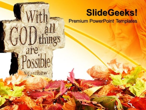 Things Are Possible Metaphor PowerPoint Templates And PowerPoint Themes 0712