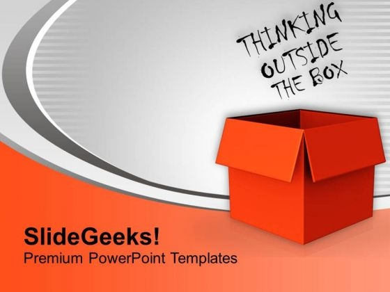 Think Out Of The Box For Creativity PowerPoint Templates Ppt Backgrounds For Slides 0513