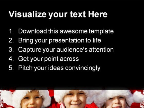 three_children_christmas_powerpoint_themes_and_powerpoint_slides_0811_text