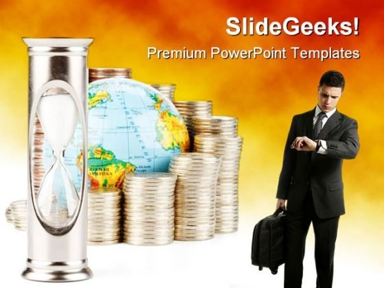 Time Is Money Business PowerPoint Themes And PowerPoint Slides 0311