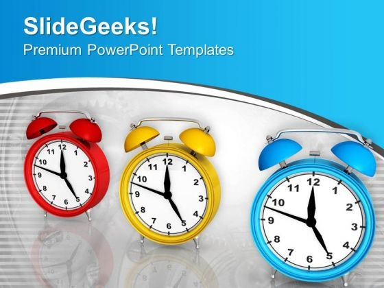 Time Is Running To Finish The Task On Time PowerPoint Templates Ppt Backgrounds For Slides 0313