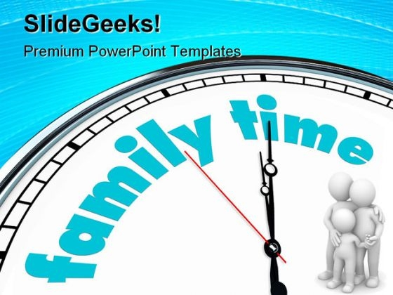 Time Of Love Family PowerPoint Themes And PowerPoint Slides 0411