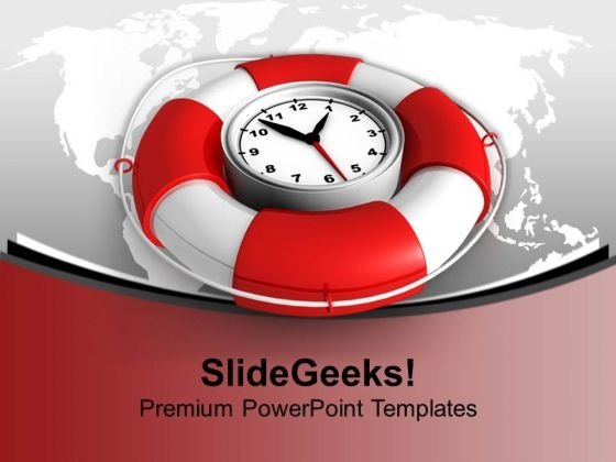 Time To Be Safe Time Planning PowerPoint Templates And PowerPoint Themes 1112