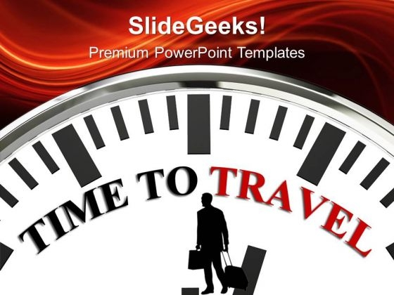 Time To Travel And Distances PowerPoint Templates Ppt Backgrounds For Slides 0213
