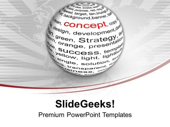 To Achieve Goal And Sucess Follow Concept PowerPoint Templates Ppt Backgrounds For Slides 0413