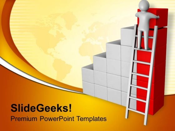 To Get Success Find Help PowerPoint Templates Ppt Backgrounds For Slides 0713