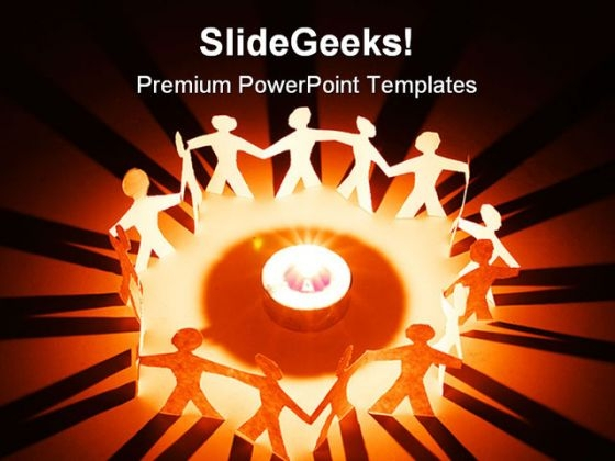 Together People Global PowerPoint Templates And PowerPoint Backgrounds 0711