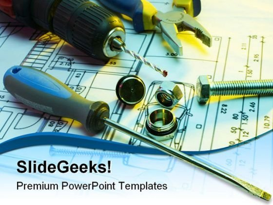 Tools Series Industrial PowerPoint Themes And PowerPoint Slides 0311