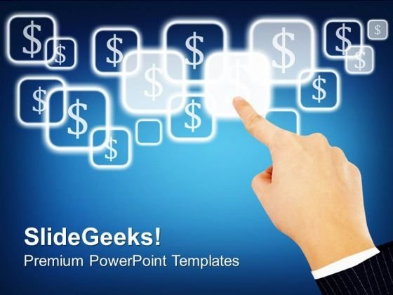 Touch Screen Technology PowerPoint Templates And PowerPoint Themes 1112