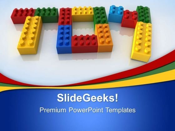 Toy Word With Lego Game PowerPoint Templates And PowerPoint Themes 0312