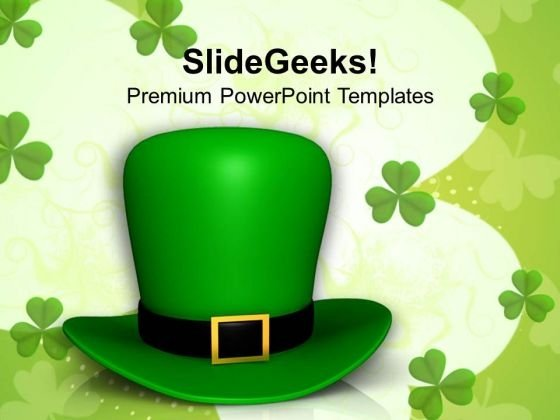 Traditional Hat PowerPoint Templates Ppt Backgrounds For Slides 0313