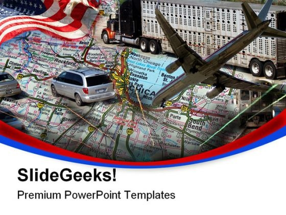 Transportation Design Technology PowerPoint Themes And PowerPoint Slides 0811