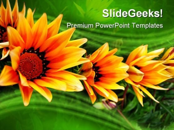 Triplet Nature PowerPoint Templates And PowerPoint Backgrounds 0211
