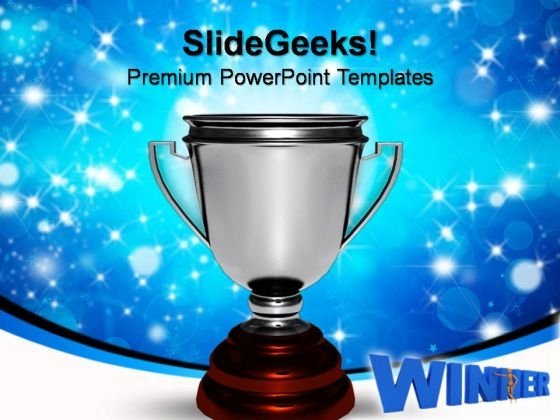Trophy Success PowerPoint Templates And PowerPoint Themes 0812
