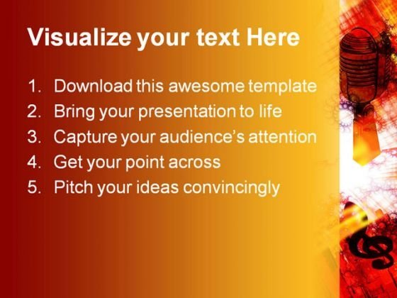 trumpet_music_powerpoint_themes_and_powerpoint_slides_0611_text