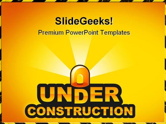 Under Construction02 Architecture PowerPoint Templates And PowerPoint Backgrounds 0811