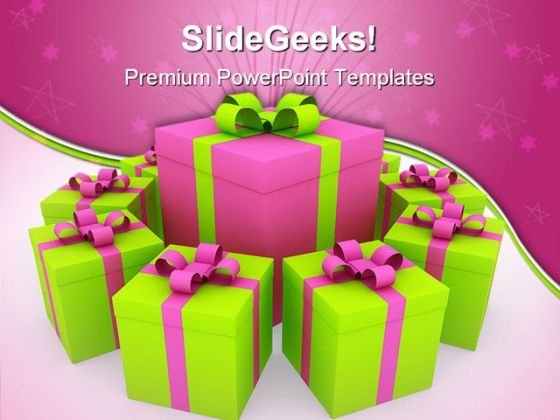 Unique Gift Events PowerPoint Templates And PowerPoint Backgrounds 0311