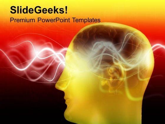 Unique Human Brain PowerPoint Templates Ppt Backgrounds For Slides 0713