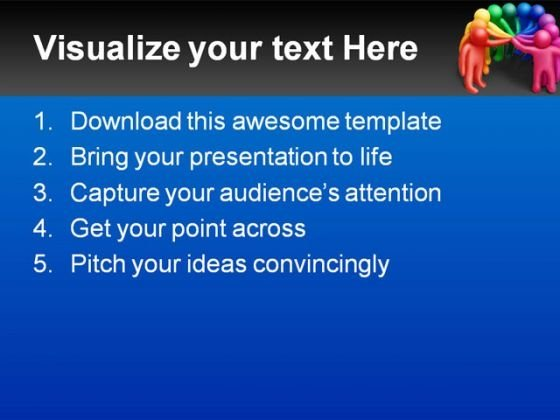 united_colors_people_powerpoint_template_1110_text