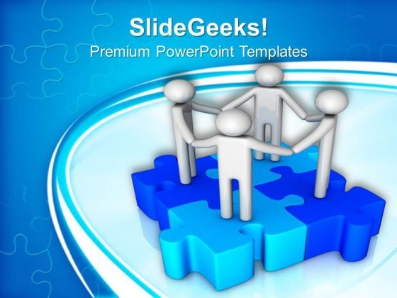 Unity Global Teamwork PowerPoint Templates And PowerPoint Themes 1112