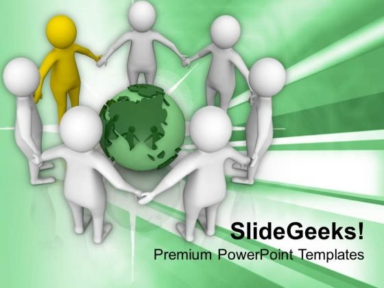 Unity In Divercity Concept PowerPoint Templates Ppt Backgrounds For Slides 0713