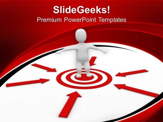 Unknown Target Success PowerPoint Templates And PowerPoint Themes 1012