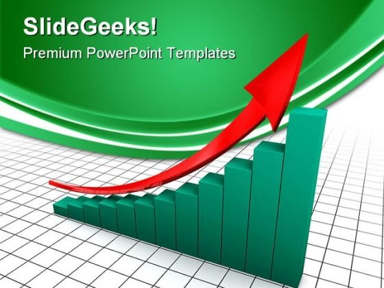 Up Arrow Success PowerPoint Templates And PowerPoint Backgrounds 0711
