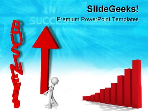 Up Graph Business PowerPoint Themes And PowerPoint Slides 0711