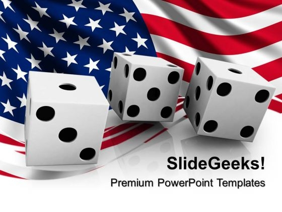 Usa Betting Americana PowerPoint Templates And PowerPoint Themes 0912