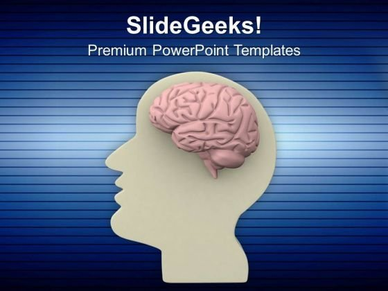 Use Brain For Solve Problem PowerPoint Templates Ppt Backgrounds For Slides 0613